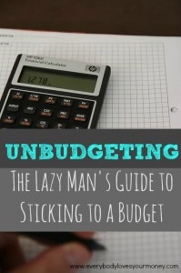 Having trouble stick to a budget? Unbudgeting is the solution. Discover the easy way to reach your financial goals. (No spreadsheets needed!)