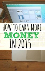 Do you want to make more money in 2015? If so, there's one small thing you can do. It's not easy but I promise if you master this the rest will follow.