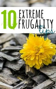 Looking to save some serious cash? These extreme frugality tips will get you there! It's important thought to recognize that this type of lifestyle might not be sustainable for you in the long run.
