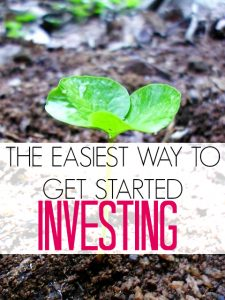 Does investing intimidate you? I used to be the same way! Then I found this tool. Here's the absolute easiest way to start investing.