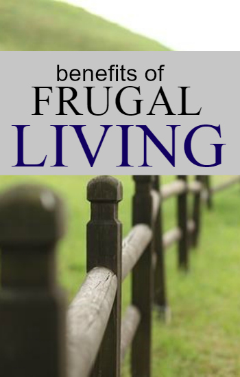 benefits of frugality