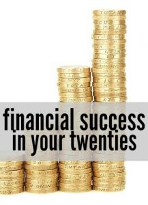 Working toward financial success in your twenties? If you start implementing these habits now you can set yourself up for lifelong success!