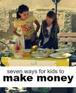 Ready to teach your child about entrepreneurship, discipline, and money management? Here are seven ways for kids to make money this summer!