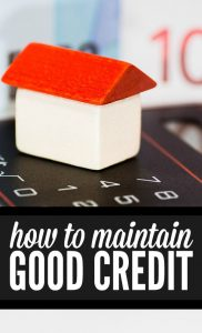 To keep your personal finances on track you need to monitor your credit. Here are some excellent tips from USA.gov on maintaining good credit.