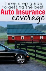 Having the right auto insurance coverage is crucial to your personal finances. Find out why as well as the three step guide to getting the best coverage.