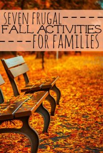 Fall is such a wonderful time of the year and there's so much to do! Here are my seven favorite low cost fall activities for families.