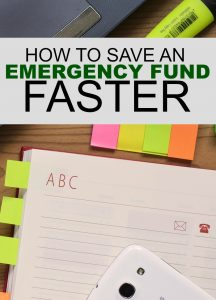 Having trouble putting money back? These four steps will help you save for an emergency fund faster.