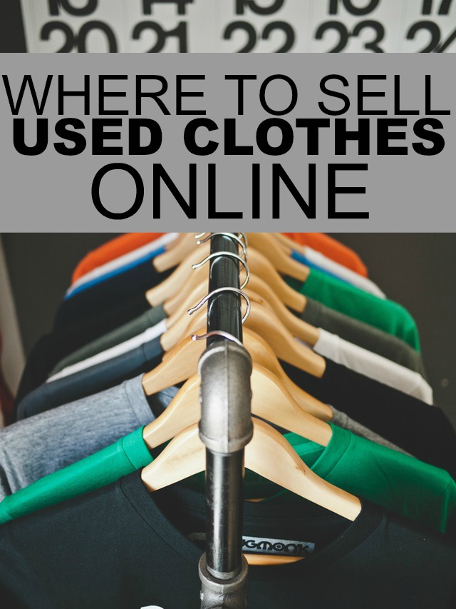 How to sell your old clothes online