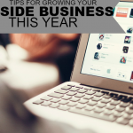 If you're income is stagnant here are three tips to grow your side business this year.