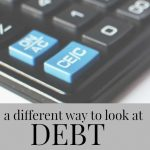 Stop looking at debt as good or bad and start looking at it in this light...