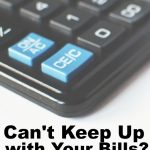 Americans' are focused on staying current on bills and paying debt down. If you can't keep up with your bills here are some things to try.