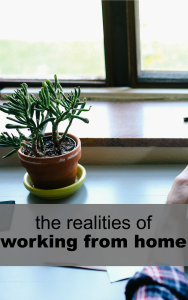While working from home definitely has a strong set of pros I wanted to cover the other side today – the realities of working from home.