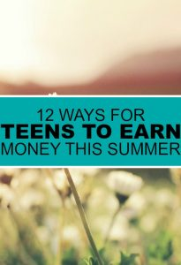 If you're looking to keep your teen busy while teaching important skills a summer job is the perfect fit. Here are ways for teenagers to earn money.