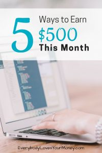 Here are five ways to chop debt by $500 this month.