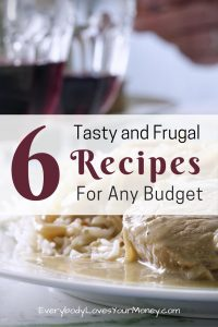Here is a quick list of tasty and frugal recipes for your next grocery trip.
