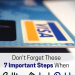 Don't forget these important steps when you're getting out of debt.
