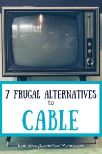 Here are a bunch of frugal alternatives to cable. Combining a few of them might just do the trick.