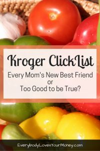 If you're trying to figure out what Kroger's new grocery pickup service is all about, here's an in depth Kroger ClickList review that might help!