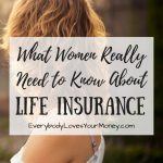 I found some great life insurance tips specifically for women in this article!