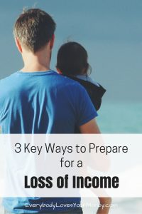 Here are some ways to prepare for a loss of income, either sudden or expected.