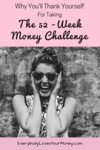 I'm so glad I ran across this 52-week money challenge. It's so easy!