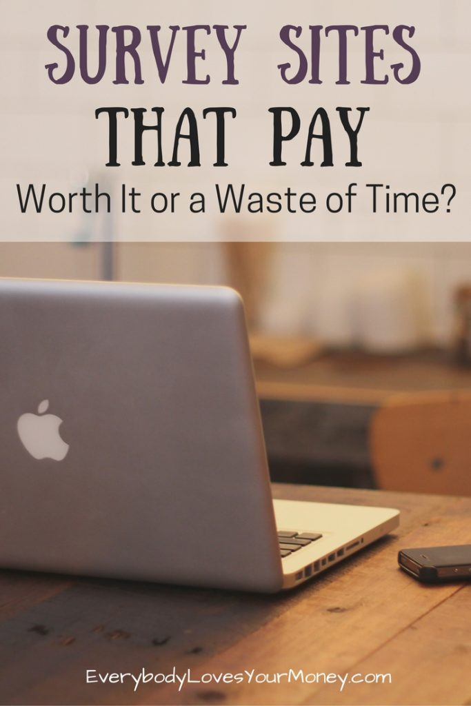 surveys sites that pay survey sites that pay worth it or a waste of time 5677