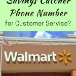 Walmart Savings Catcher Phone Number