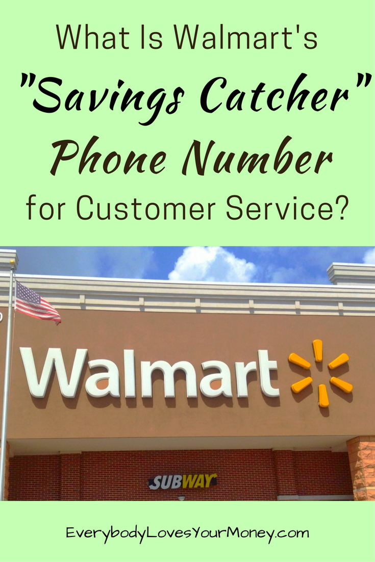Walmart 1800 Call In Number >> Looking For A Walmart Savings Catcher Phone Number For