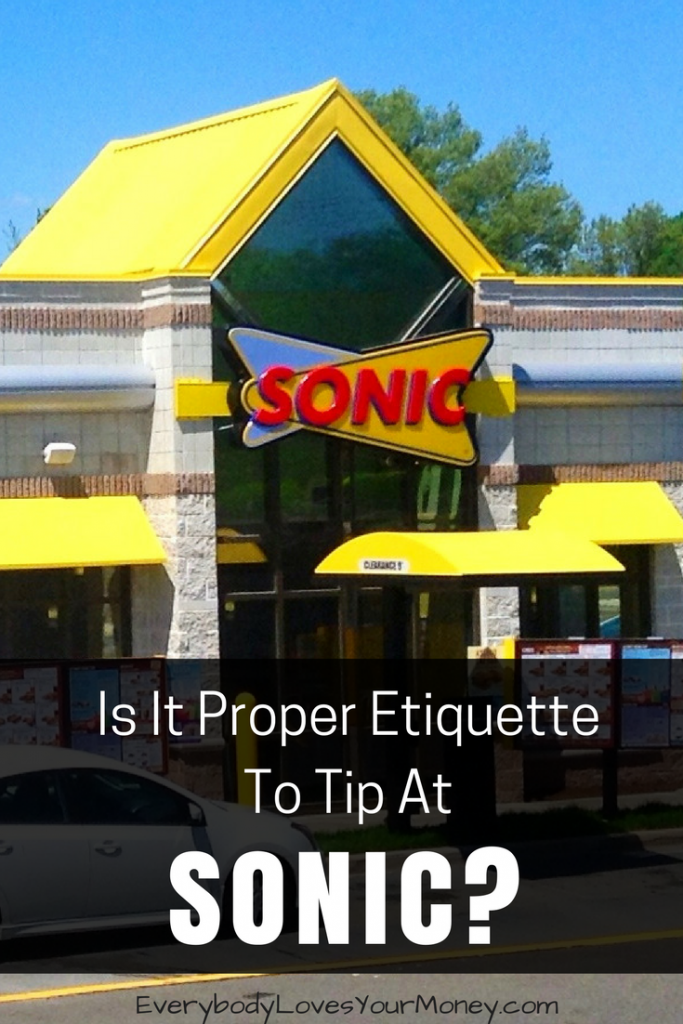 Do You Tip At Sonic