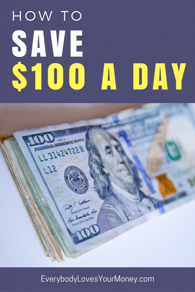 How to Save $100 a Day