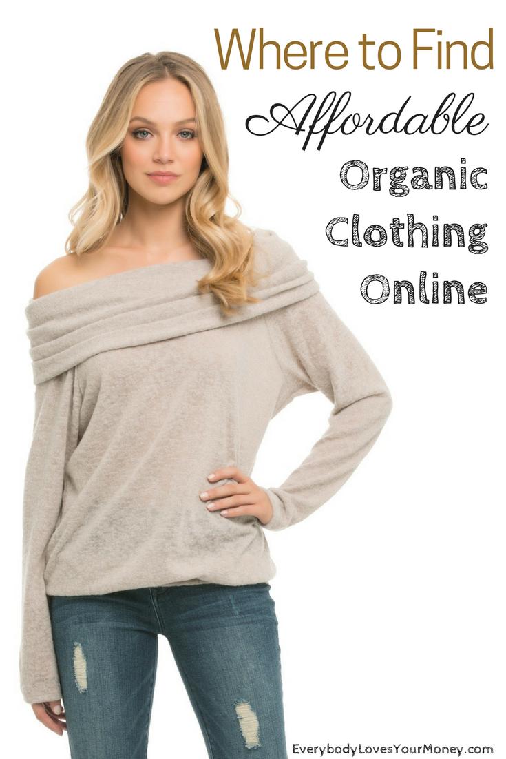 affordable organic clothing