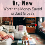 buying used furniture vs new