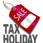 What is a sales tax holiday?