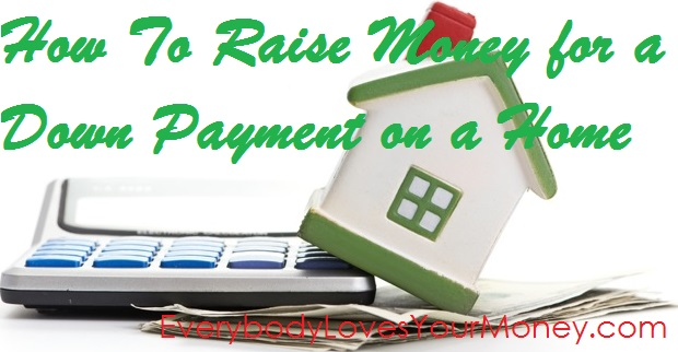 How to save for a doan payment on a home.