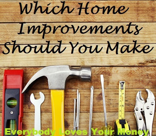 Whether you intend to sell your home or live there forever, there are home improvements you could make.