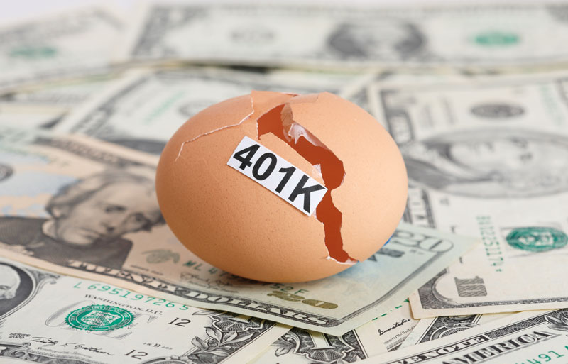 Think carefully before you borrow against your retirement plan.